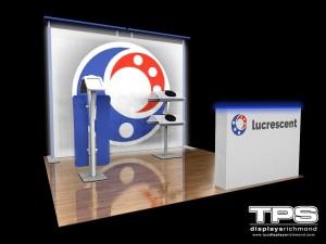 10' Modular Trade Show Display Design