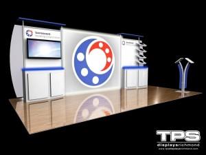 10' x 20' Modular Trade Show Display Design